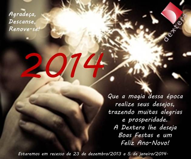 Boas Festas e Feliz 2014