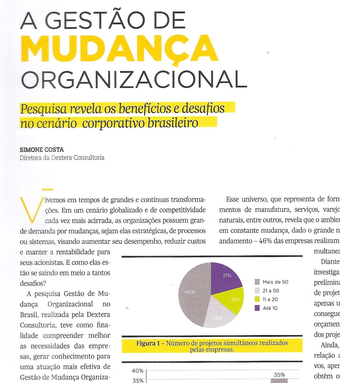 Mudança organizacional  o caso de uma empresa de telecomunicações no brasil 10
